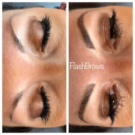 Microblading Before and After in Dallas