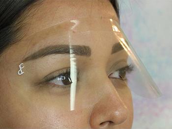 eyebrow protection
