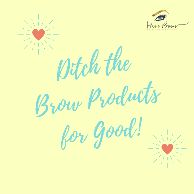 Ditch the Brow Products for Good