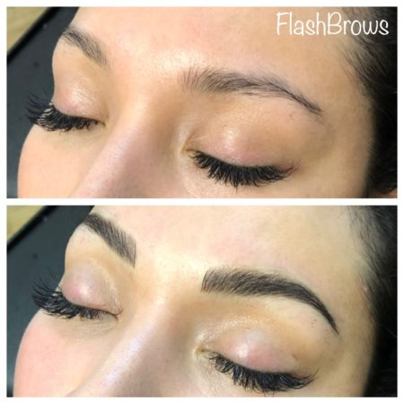 Before and After Dallas Microblading