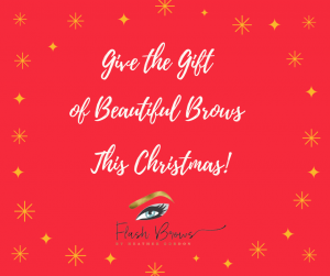 Give the Gift of Beautiful Brows This Christmas!